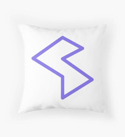 Streamia Lightning Throw Pillow