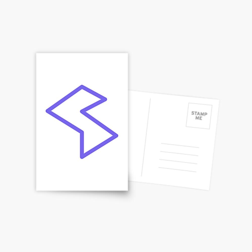 Streamia Lightning Postcard