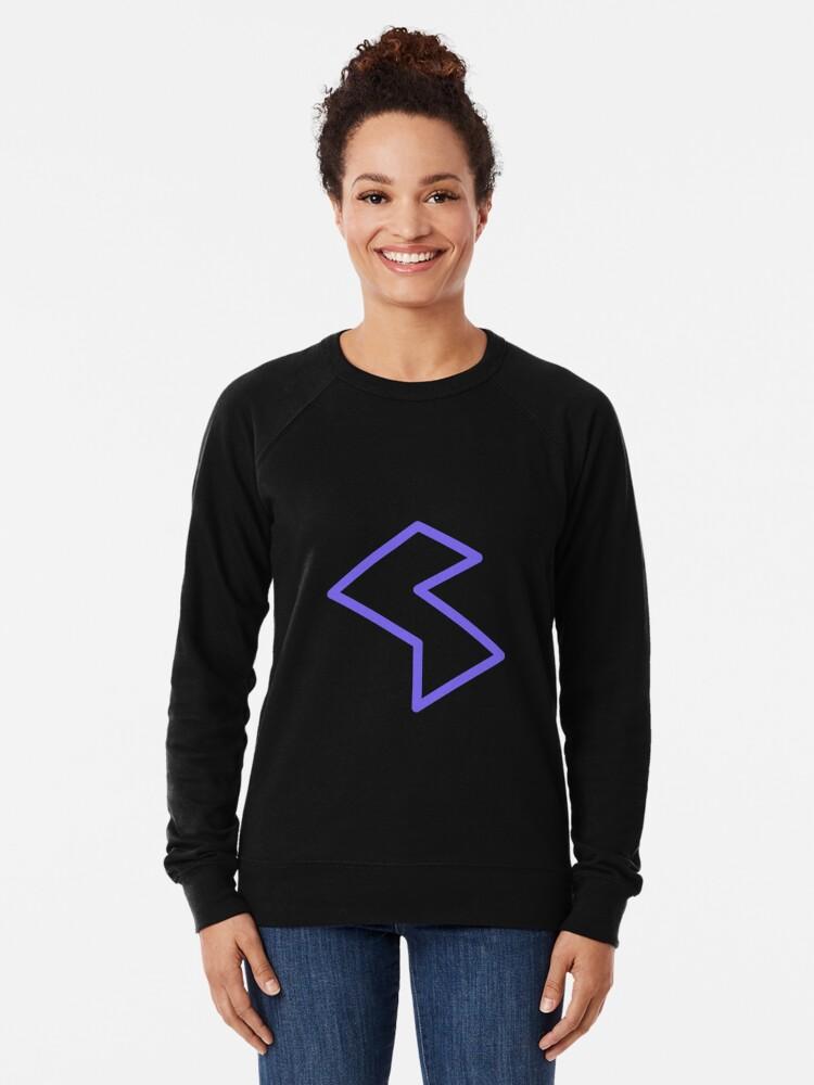 Alternate view of Streamia Lightning Lightweight Sweatshirt
