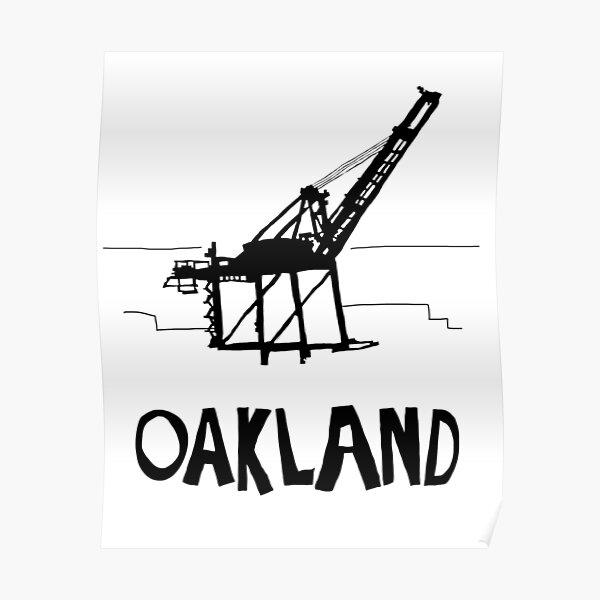 Oakland California Poster