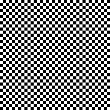 Classical black and white square pattern by ShineEyePirate
