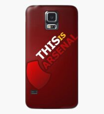 this is arsenal Case/Skin for Samsung Galaxy