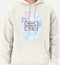 white marble band  Pullover Hoodie