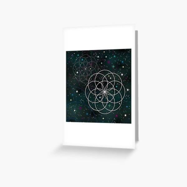 Galactic Dreams Greeting Card