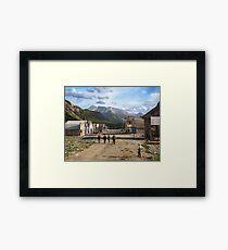 Eureka, Colorado ca 1900 Framed Print