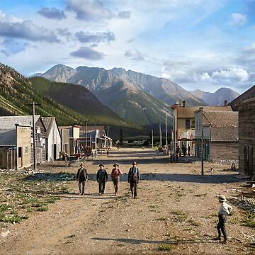 Eureka, Colorado ca 1900 by SannaDullaway
