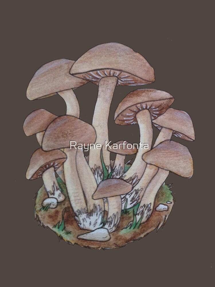 Mushroom Cluster  by domogatcha