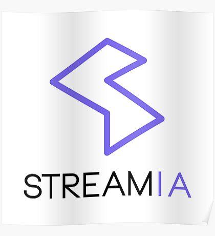 Streamia Logo Alt. Poster