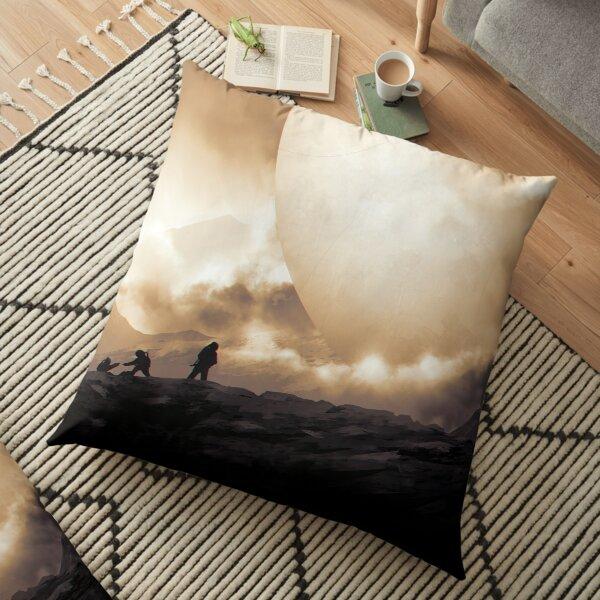 trav Floor Pillow