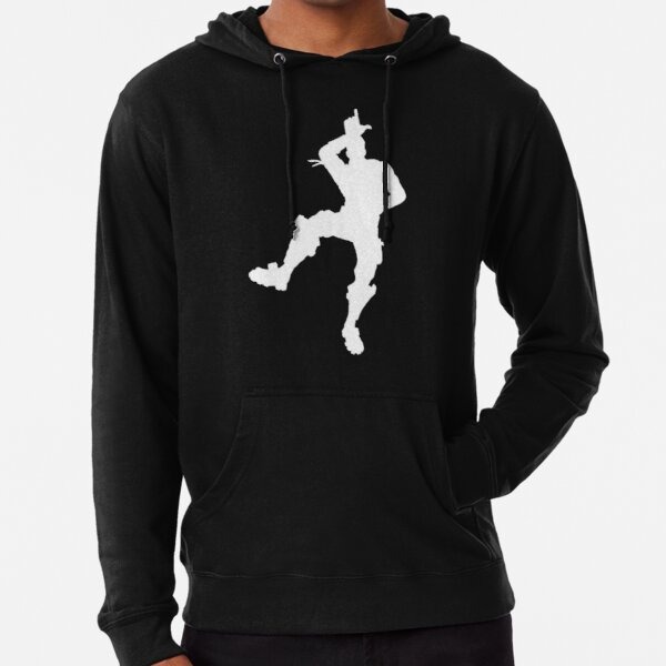 Charocal Black HOODIE FLOSS LIKE A BOSS Character Fornite PULLOVER Kids /& Adult