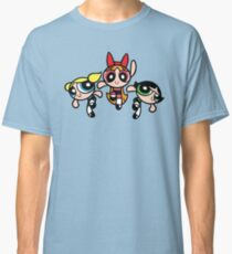 powerpuff band Classic T-Shirt