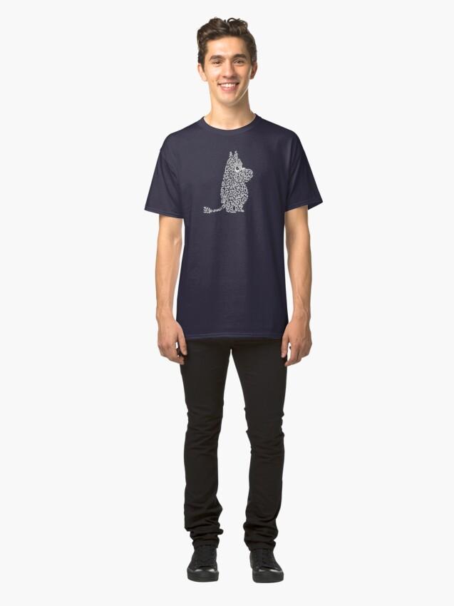 "Alternative Ansicht von ""Mumin"" Classic T-Shirt"