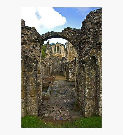 Through The Passageway - Rievaulx Abbey Photographic Print