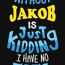 Best friends dearest name design Jakob by PM-Names