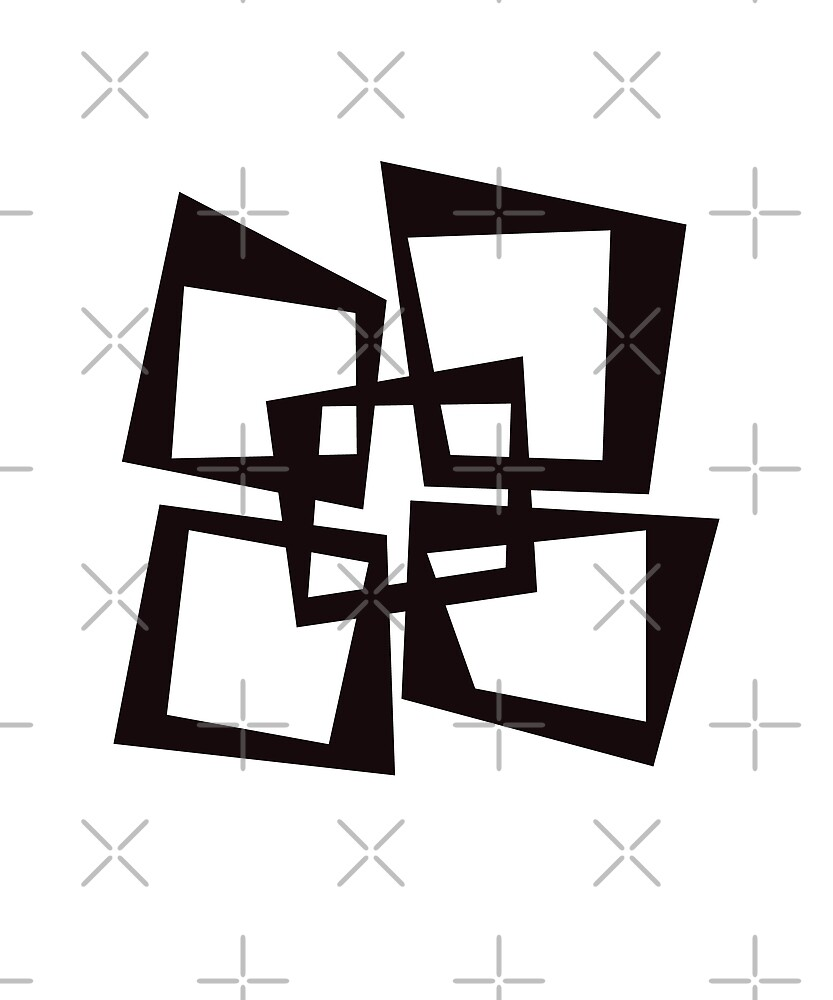 Offset Squares by designkitsch