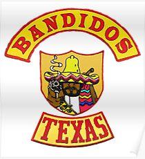 Bandidos Posters | Redbubble