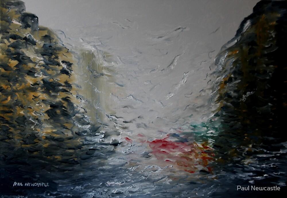 Driving Through The Rain by Paul Newcastle
