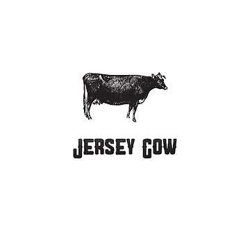 Jersey Cow | Animal Art by CarlosV