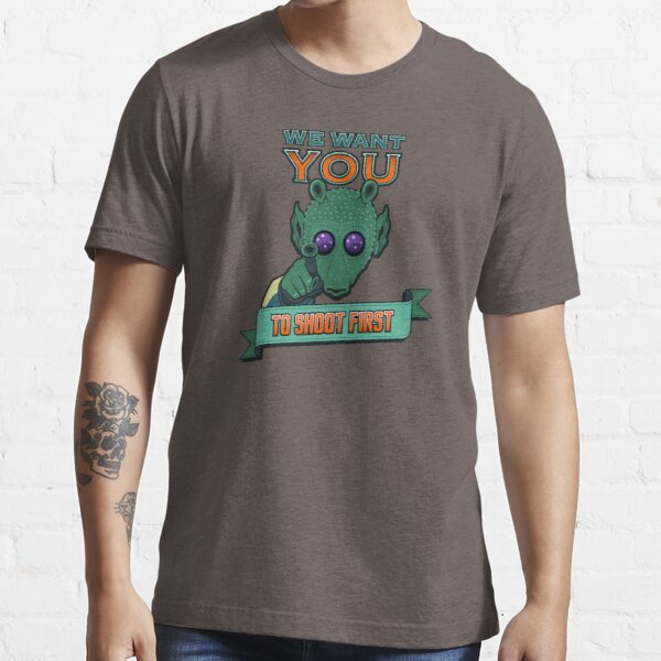 Greedo Wants You To Shoot First Essential T-Shirt