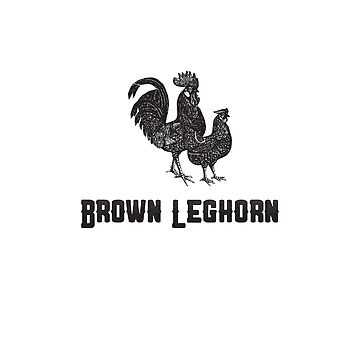 Brown Leghorn | Animal Art by CarlosV