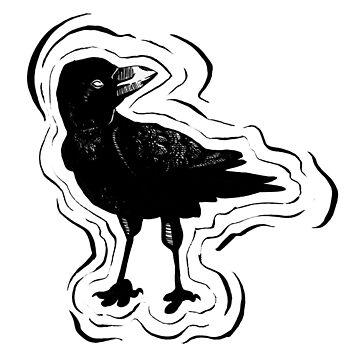 A Lil Crow by srw110