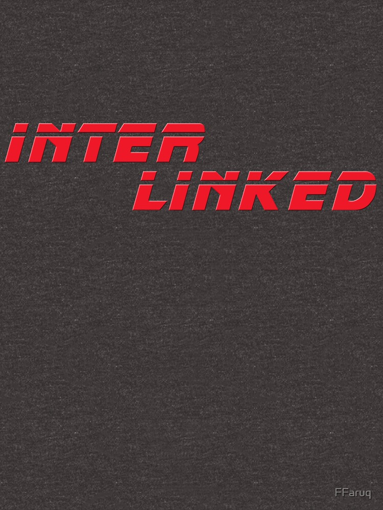 INTER LINKED Red (from Blade Runner 2049) Scifi T-Shirt Geek Apparel by FFaruq