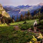 The Hiker by Kathy Weaver