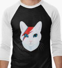 Cat Bowie Baseball ¾ Sleeve T-Shirt
