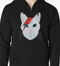 Cat Bowie Zipped Hoodie