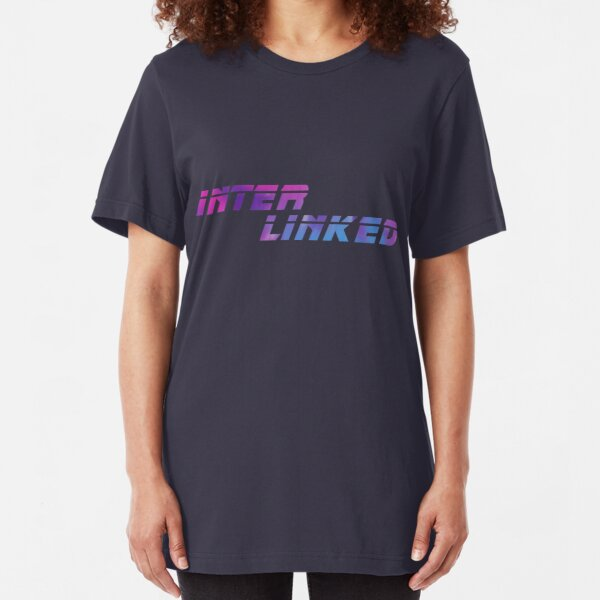 INTER LINKED Variant (from Blade Runner 2049) Scifi T-Shirt Geek Apparel Slim Fit T-Shirt