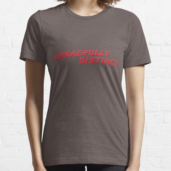 DREADFULLY DISTINCT Red (from Blade Runner 2049) Scifi T-Shirt Geek Apparel Essential T-Shirt