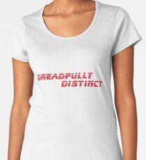 DREADFULLY DISTINCT Red (from Blade Runner 2049) Scifi T-Shirt Geek Apparel Women's Premium T-Shirt