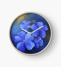 Forget-Me-Not Clock