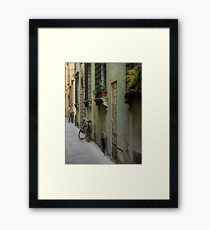 Lonely Twins Framed Print