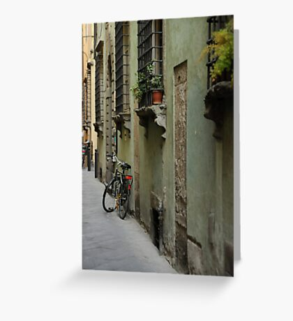Lonely Twins Greeting Card