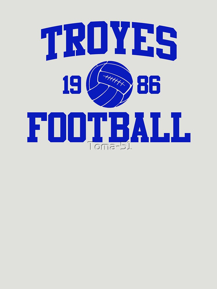 Troyes Football Athletic College Style 2 Gray by Toma-51