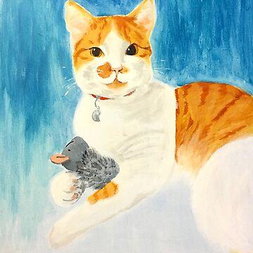 Portrait of a Kitty by srw110