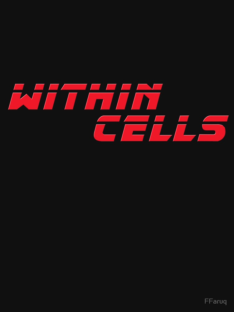 WITHIN CELLS Red (from Blade Runner 2049) Scifi T-Shirt Geek Apparel by FFaruq