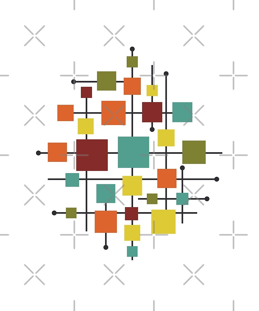 Abstract Squares by designkitsch