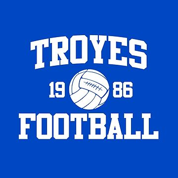 Troyes Football Athletic College Style 2 Color by Toma-51