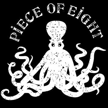 Piece Of Eight - Peso De Ocho by Skullz23