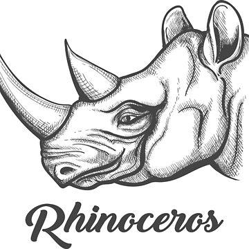 Rhinoceros Head by devaleta