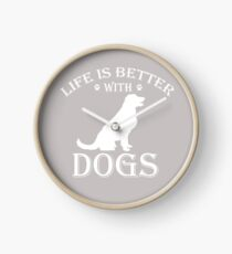 Life is better Clock