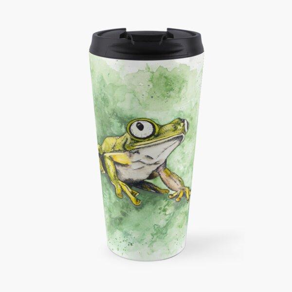 Lemur Leaf Frog Travel Mug