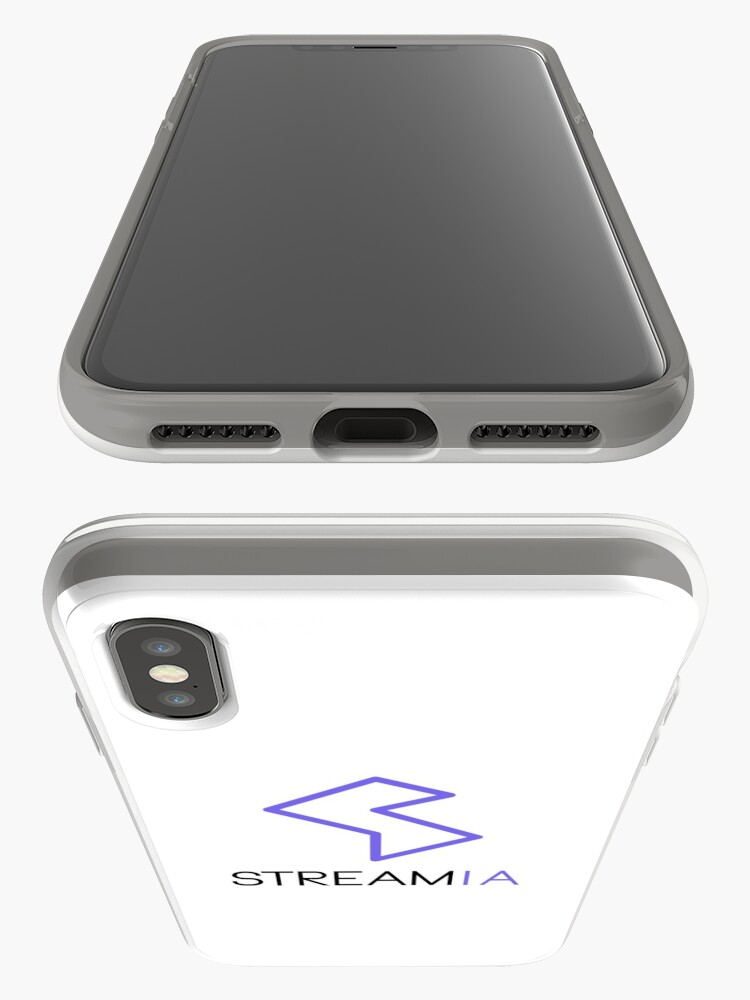 Alternate view of Streamia Logo Alt. iPhone Case & Cover