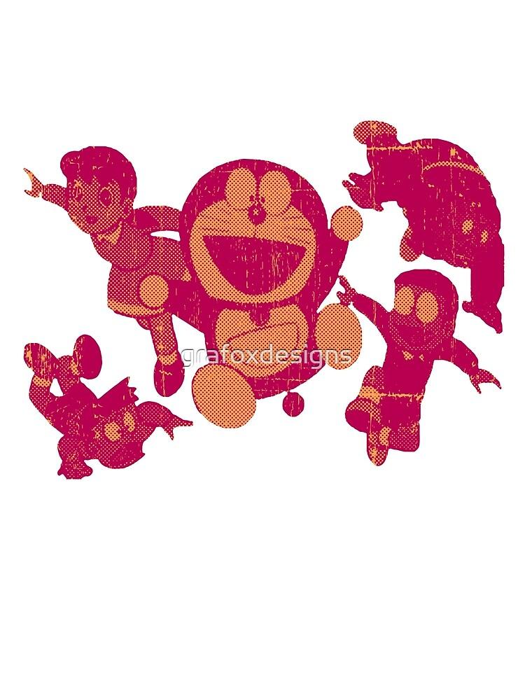 Doraemon by grafoxdesigns