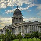 USA. Utah. Salt Lake City. State Capitol. by vadim19