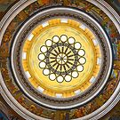 USA. Utah. Salt Lake City. State Capitol. Interior. Dome. by vadim19