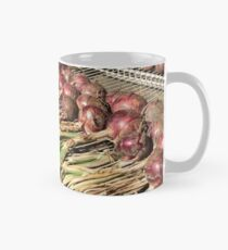 Drying Onions Mug