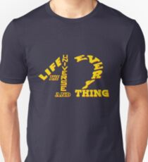 42 - Life The Universe and Everything - HHGTTG Hitchhikers Scifi Geek Apparel Unisex T-Shirt